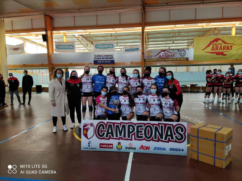 Última jornada de la Liga Juvenil Femenina de Balonmano en Herencia 8