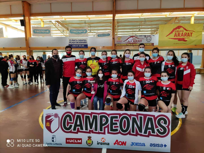 Última jornada de la Liga Juvenil Femenina de Balonmano en Herencia 9
