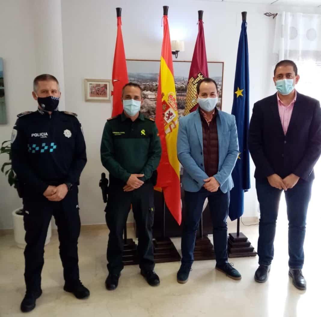 Herencia recibe al nuevo Sargento de la Guardia Civil, Andrés Mora 1