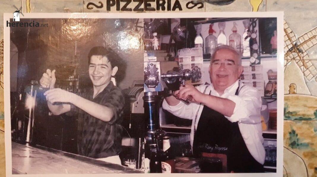 Vídeo recordando los comienzos de Víctor de Las Cancelas en el Bar Lozano en Herencia 1