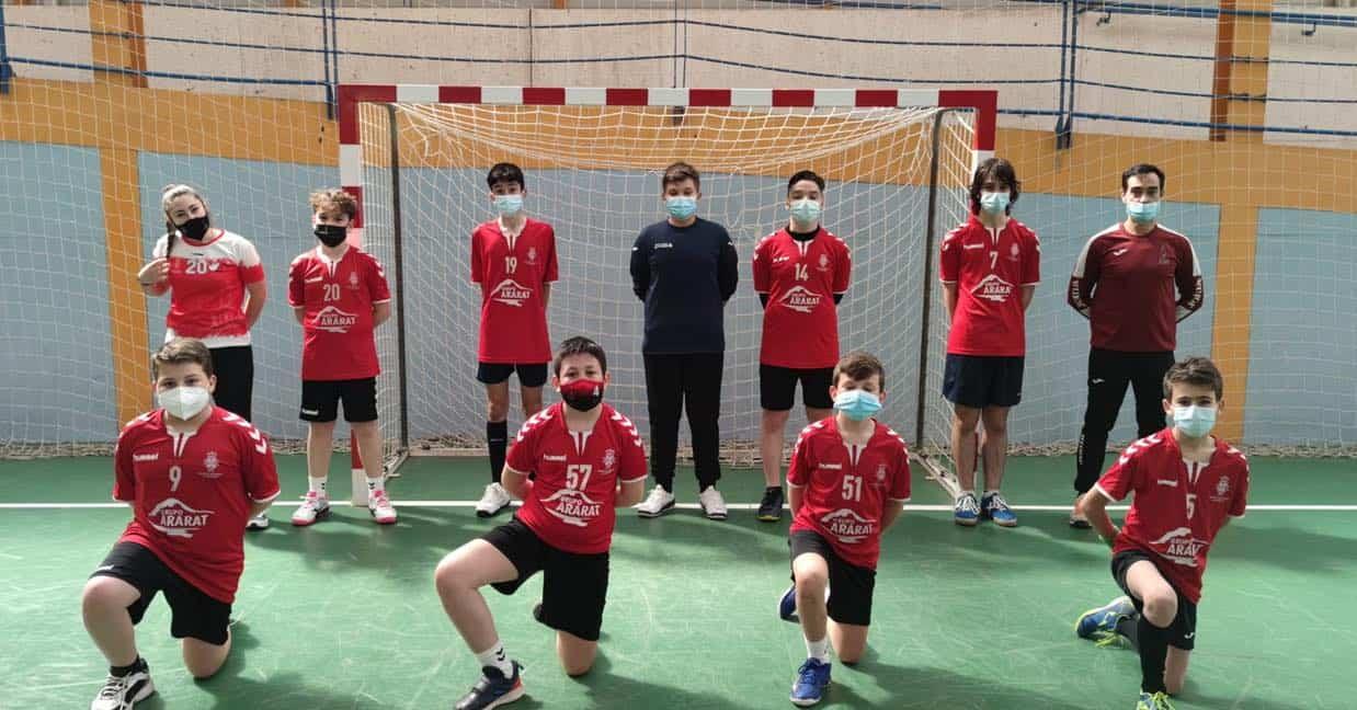 Cadete Femenino de Balonmano clasificado para la final del Campeonato Provincial 3