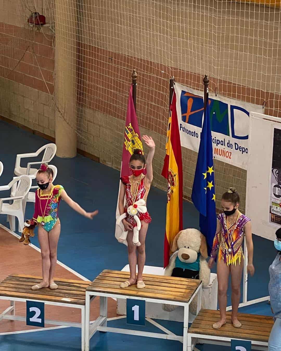 Herencia triunfa en el Campeonato Regional de Gimnasia Rítmica en Pedro Muñoz 6