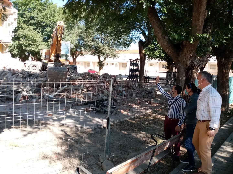 Comienza la demolición del antiguo colegio del Cristo en Herencia 3