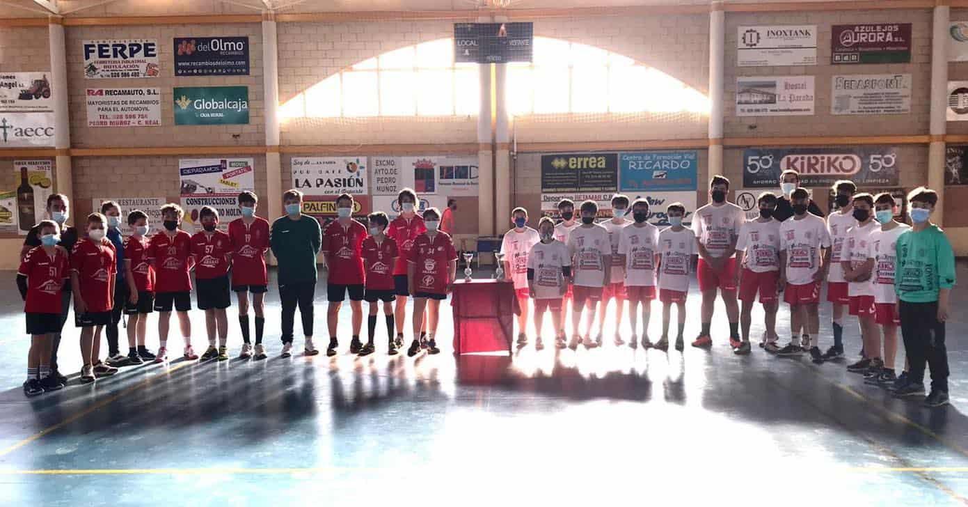 Cuarto puesto en el Campeonato Provincial para el Infantil Masculino de Balonmano 6