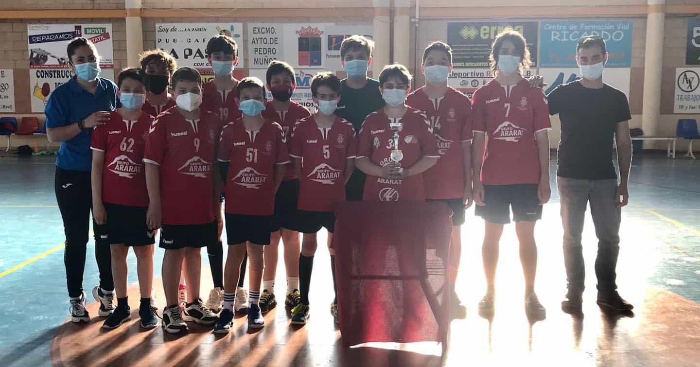 Cuarto puesto en el Campeonato Provincial para el Infantil Masculino de Balonmano 5