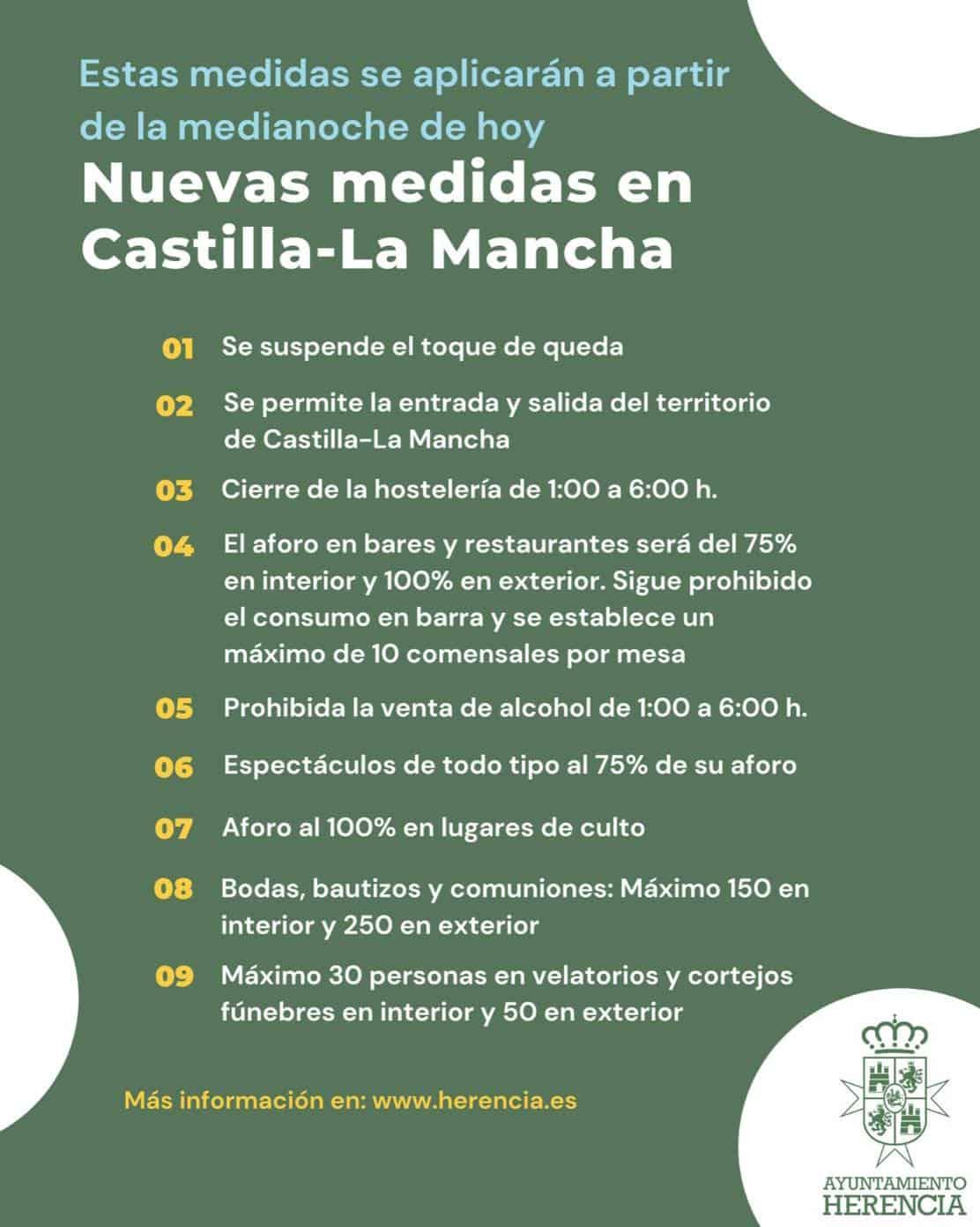 Medidas de aplicación en Castilla-La Mancha al finalizar el estado de alarma 3