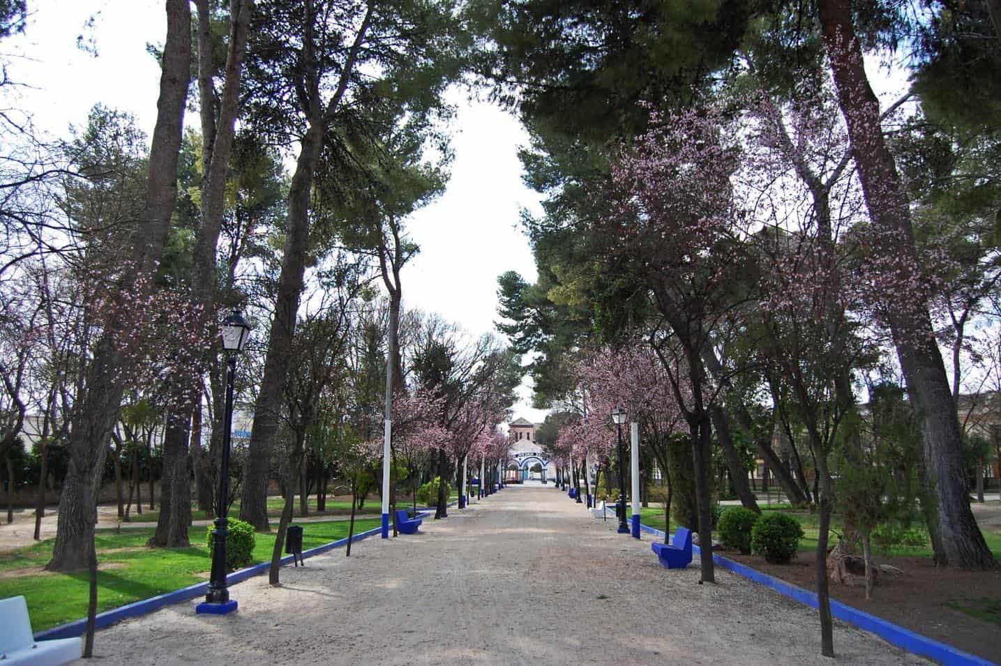 El Parque de Herencia lucirá su nueva iluminación artística por su 75 aniversario 3