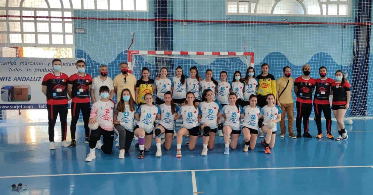 El balonmano herenciano participó en el Sector Nacional en Dos Hermanas (Sevilla) 5