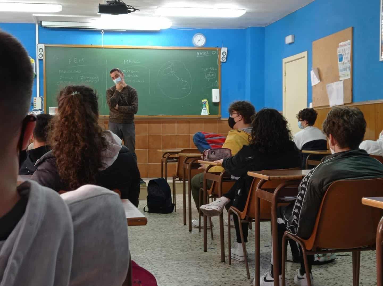 """Talleres sobre """"Nuevas Masculinidades"""" para los alumnos de 4º ESO y 1º Bachillerato 6"""