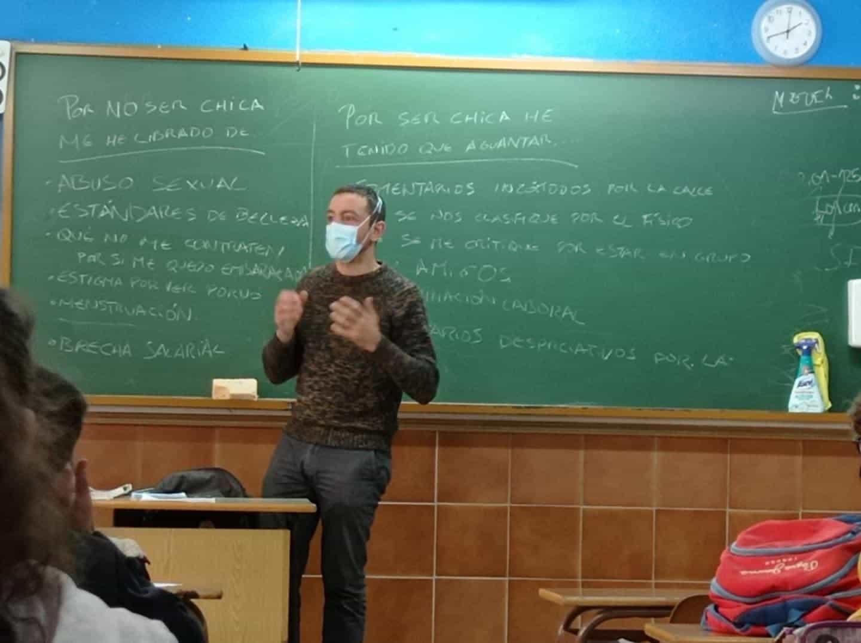 """Talleres sobre """"Nuevas Masculinidades"""" para los alumnos de 4º ESO y 1º Bachillerato 5"""