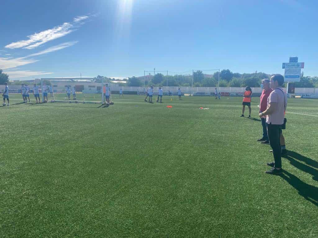 El VII Campus de Fútbol arranca en Herencia hasta el 2 de julio 1