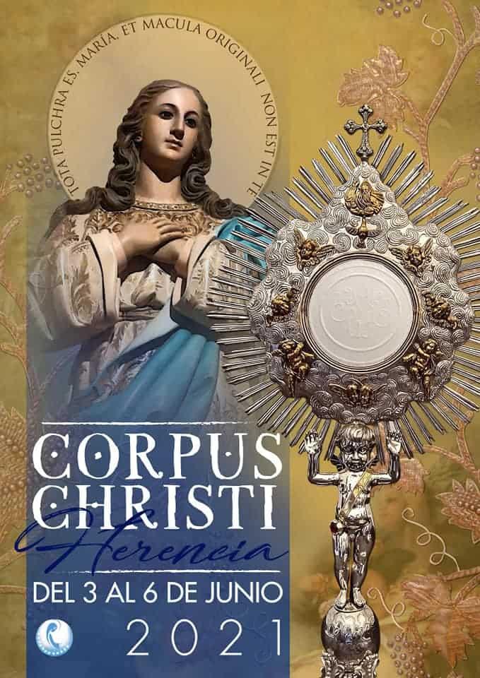 Celebración del Corpus Christi en la parroquia de Herencia 20