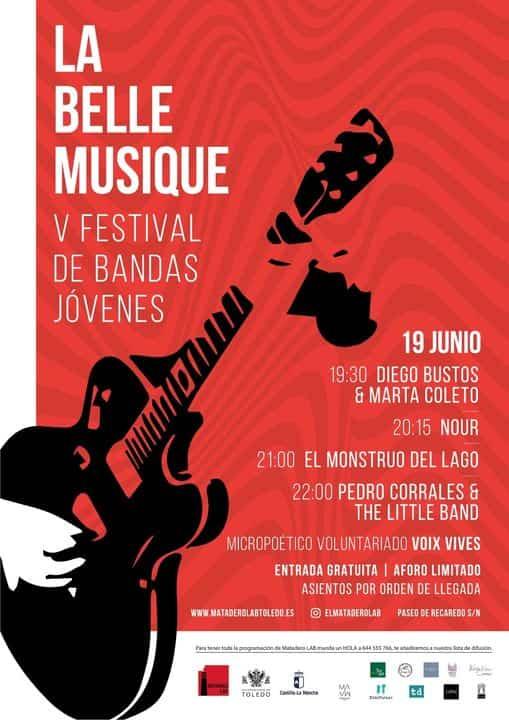 Pedro Corrales & The Little Banda actuó en elMataderoLab de Toledo 3