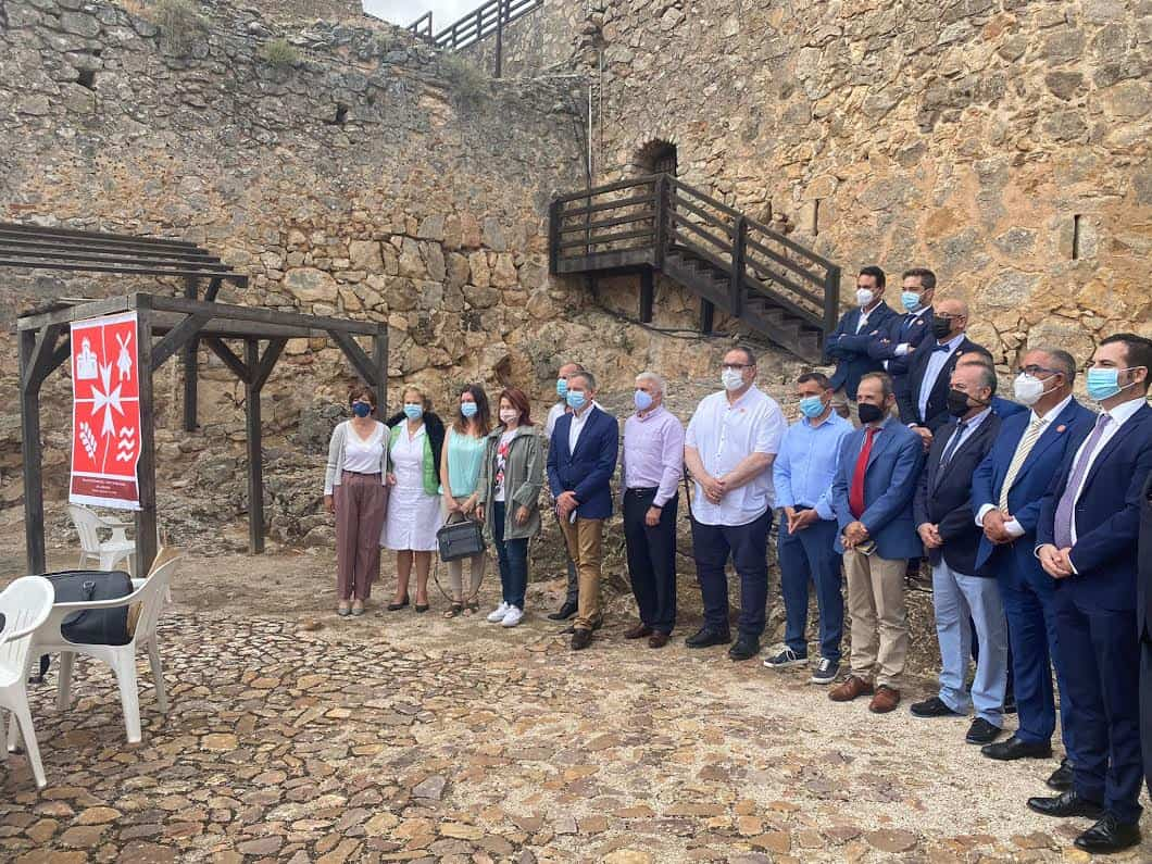 Varios investigadores de Herencia en el Grupo de Estudios del Campo de San Juan 1