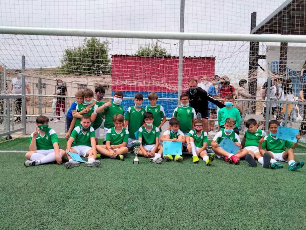 El equipo Alevín participó en el torneo de Fútbol-8 en Villa de Don Fadrigue 1