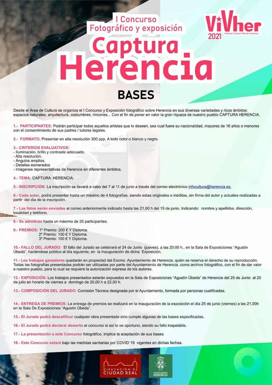 """I Concurso fotográfico y exposición """"Captura Herencia"""" con VivHer 3"""
