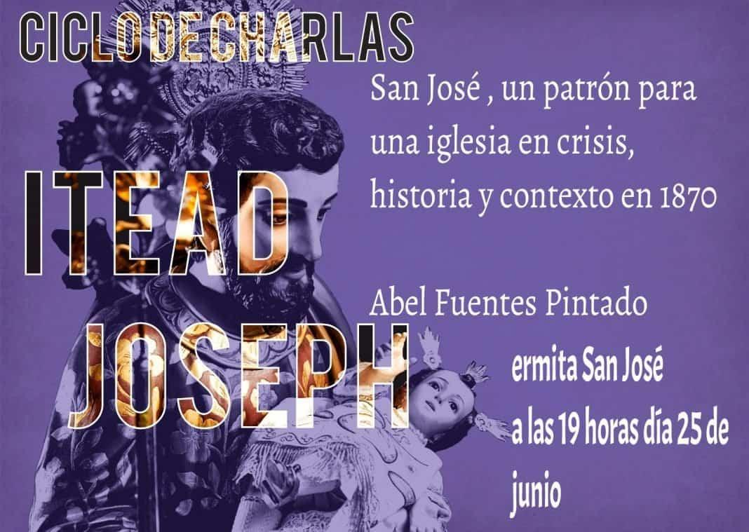 Continúa el ciclo de charlas sobre San José el próximo viernes 25 de junio 1
