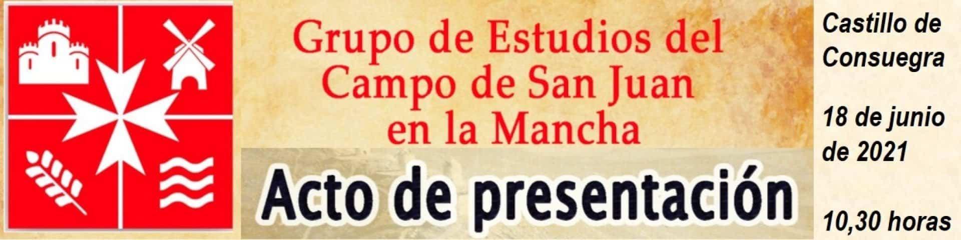 Presentación oficial del Grupo de Estudios del Campo de San Juan 3