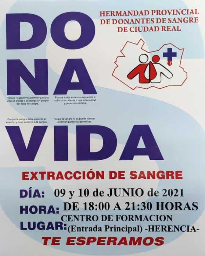 Jornadas de donación de sangre en Herencia, día 9 y 10 de junio 3
