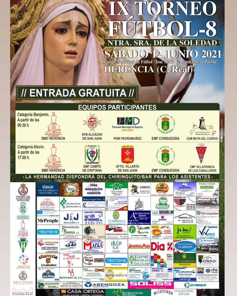 """IX Torneo Fútbol-8 """"Ntra. Sra. de la Soledad"""" en Herencia 3"""