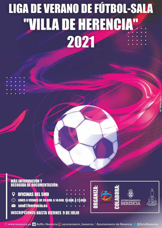 Comienzan las ligas de fútbol sala y fútbol-7 de verano en Herencia 9