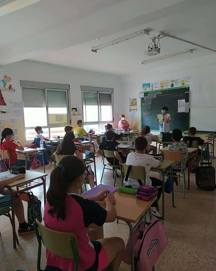 La Biblioteca de Herencia participó en la Semana Cultural del CEIP Carrasco Alcalde 3