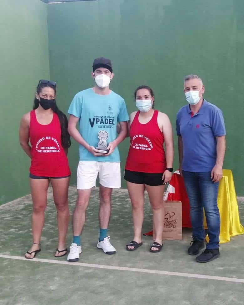 Finalizó el I Torneo de Pádel Americano en Herencia 12