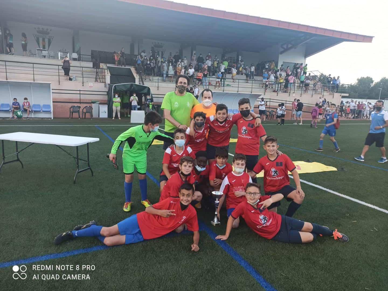 Celebrado el IX Torneo de Fútbol-8 Nuestra Señora de la Soledad en Herencia 3