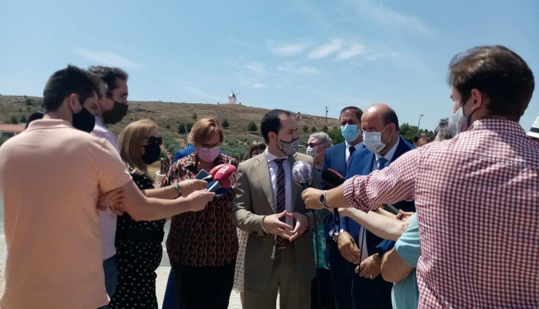 Vicepresidente de Castilla-La Mancha visitó la segunda ampliación del polígono industrial de Herencia 11