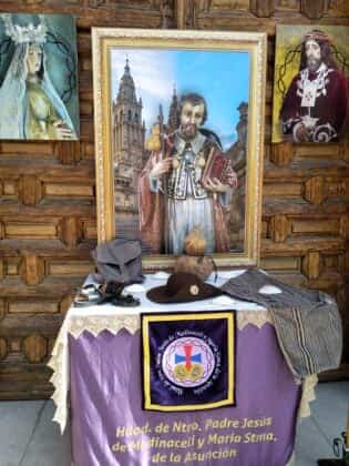Galería de imágenes de la alfombra Xacobea realizada por la hermandad de Jesús de Medinaceli 7