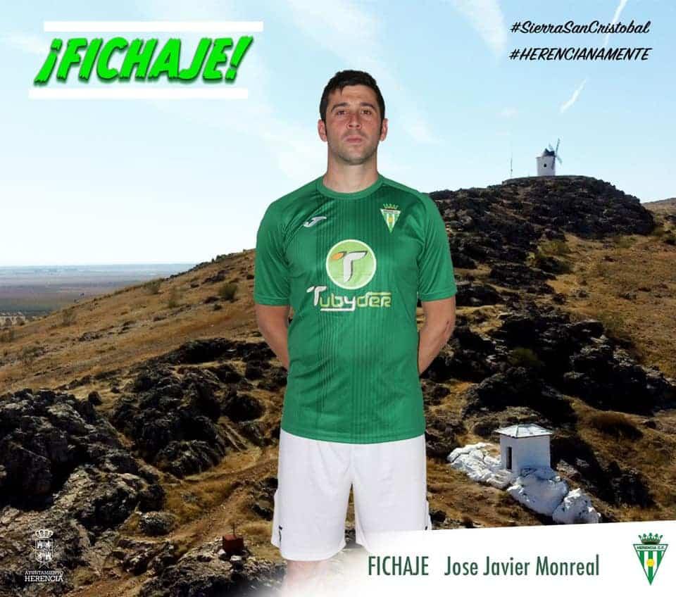 Jose Javier Monreal el nuevo fichaje del Herencia C.F. 1