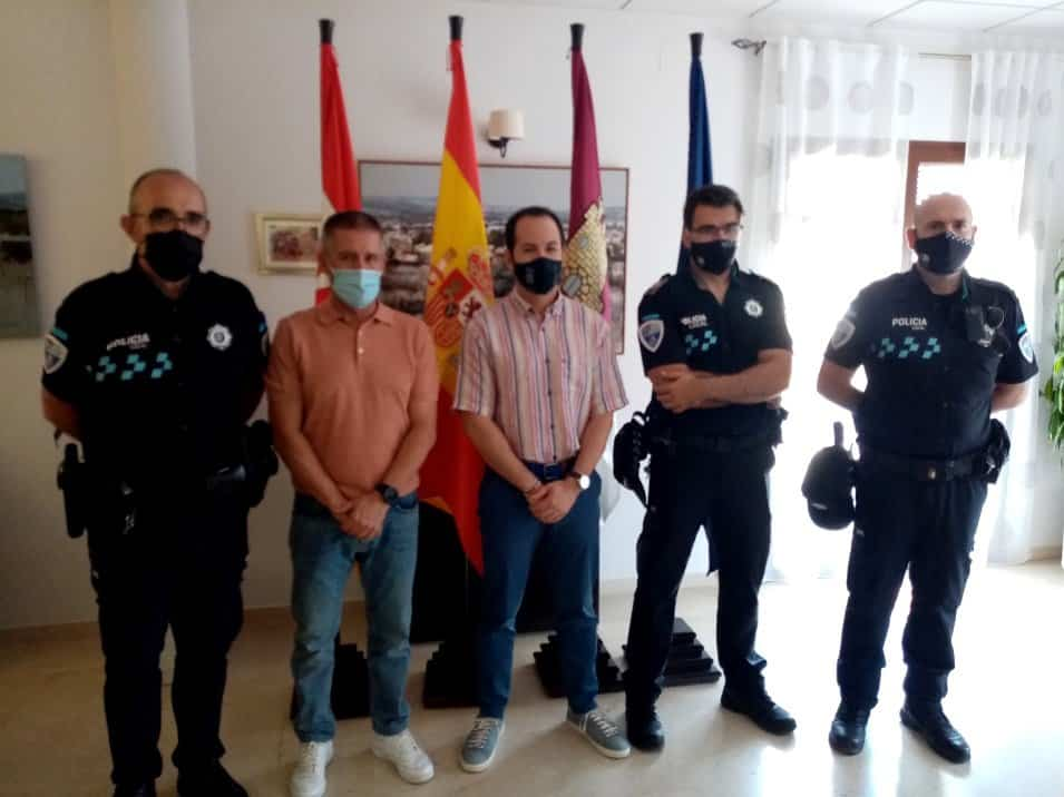 La policía local de Herencia se refuerza con un nuevo agente, Ángel Romero Monreal 1