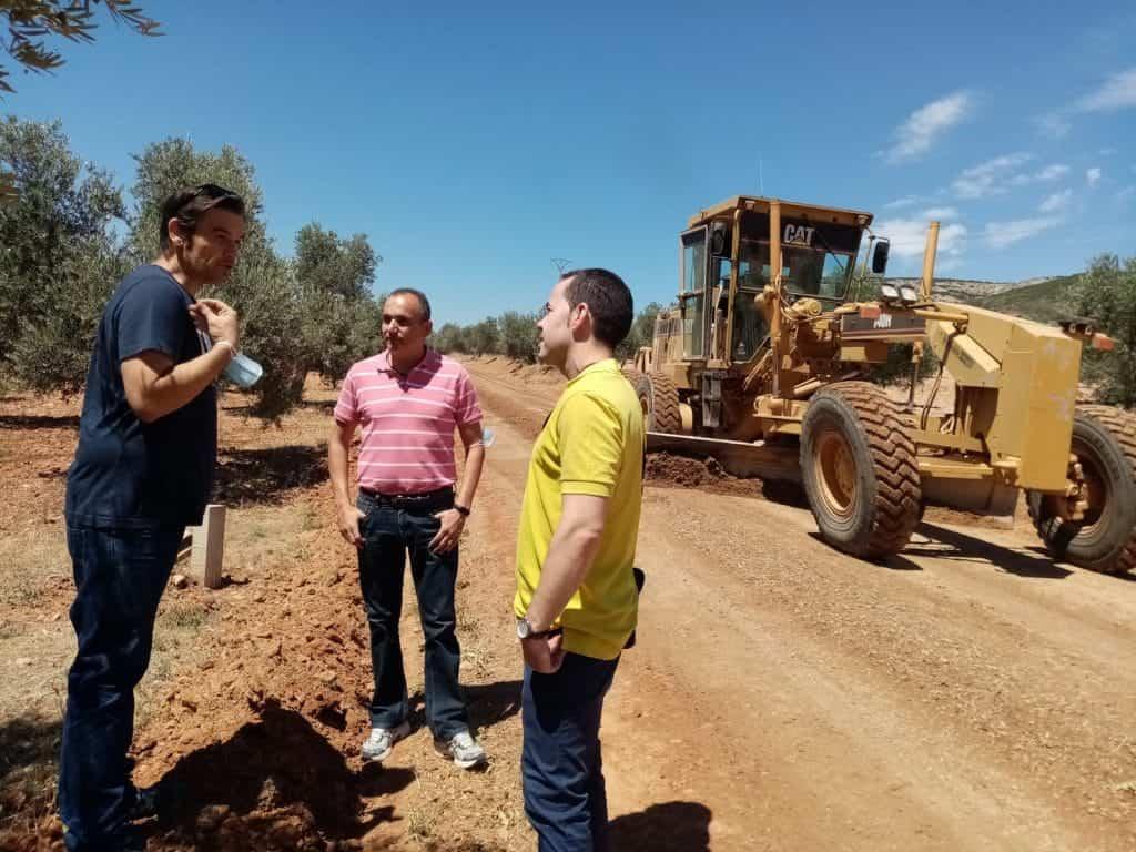 Diputación de Ciudad Real mejorará 7 kilómetros de caminos rurales en Herencia 1