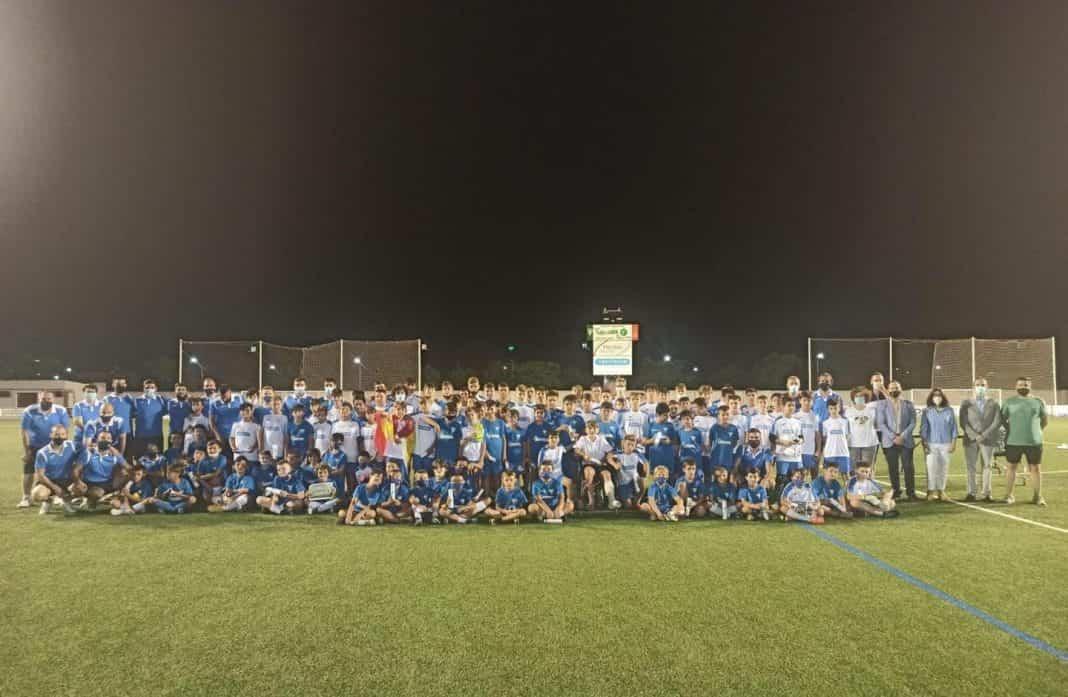 Termina la séptima edición del Campus de Fútbol en Herencia 1