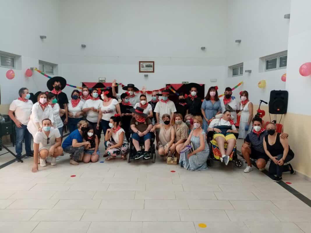 """El Centro Ocupacional """"El Picazuelo"""" clausura el curso con una fiesta flamenca 1"""