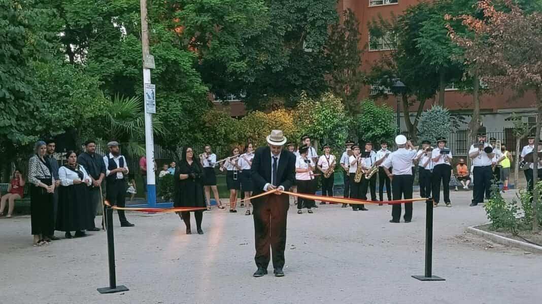 Visita teatralizada de la inauguración el Parque Municipal de Herencia 10