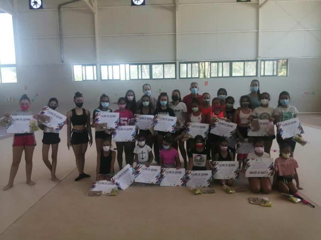 Termina la última semana del V Clinic de Gimnasia Rítmica en Herencia 1