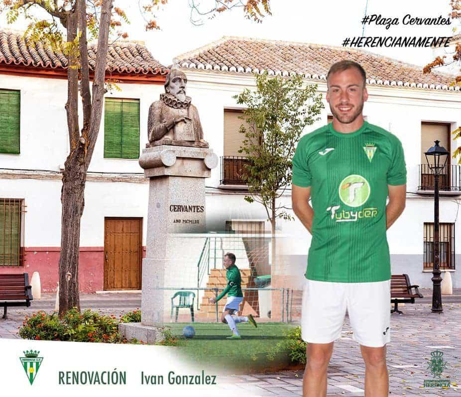Iván González renueva por un año más por el Herencia C.F. 1