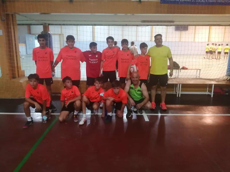 """Comienza la Liga de Fútbol-Sala """"Jóvenes Promesas"""" en Herencia 16"""
