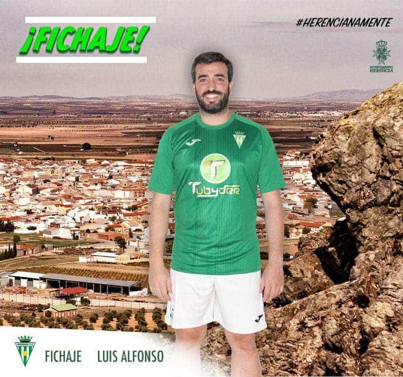 Luis Alfonso vuelve tras dos años al Herencia C.F. 1