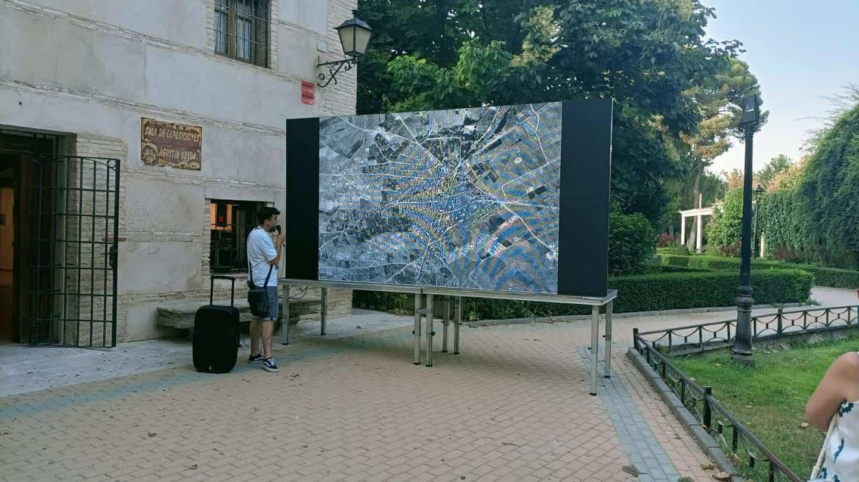 Visita teatralizada de la inauguración el Parque Municipal de Herencia 8