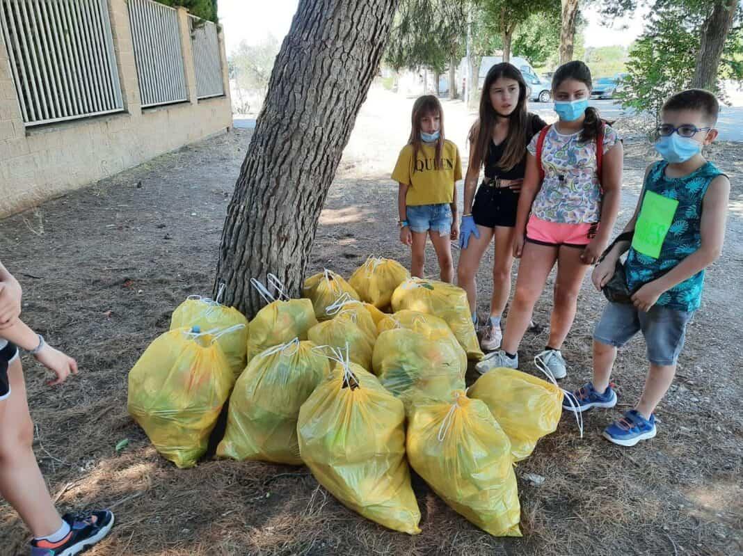 Comienza la Semana del Voluntariado Medioambiental en Herencia 4