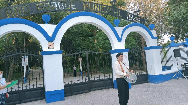 Visita teatralizada de la inauguración el Parque Municipal de Herencia 7