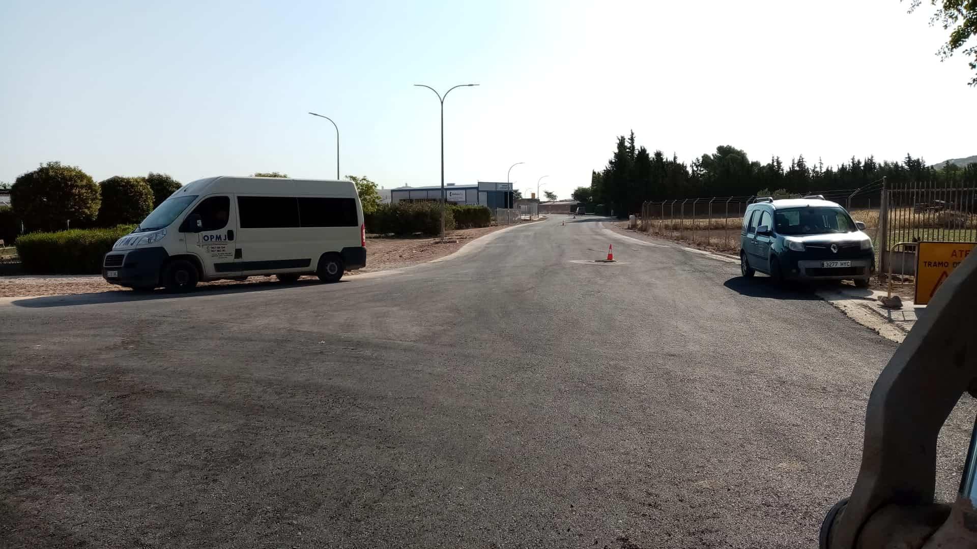 La Ronda de Mirasierra estará disponible muy pronto con la última fase de señalización y pavimentación 3