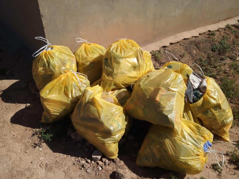 Segundo día de voluntariado medioambiental en Herencia 3