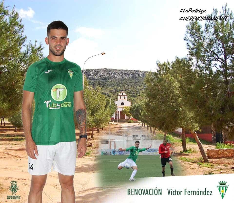 Victor Fernández renueva por un año más con el Herencia C.F. 1