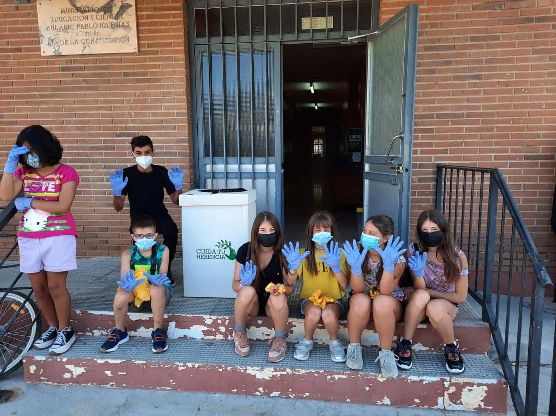 Comienza la Semana del Voluntariado Medioambiental en Herencia 3
