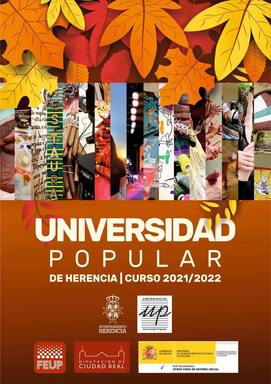La Universidad Popular ofrece más de 40 cursos y talleres en su próxima edición 13