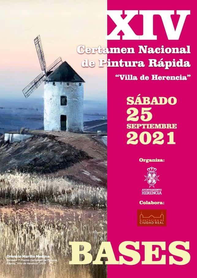 """Convocado el XV Certamen Nacional de Pintura Rápida """"Villa de Herencia"""" 4"""
