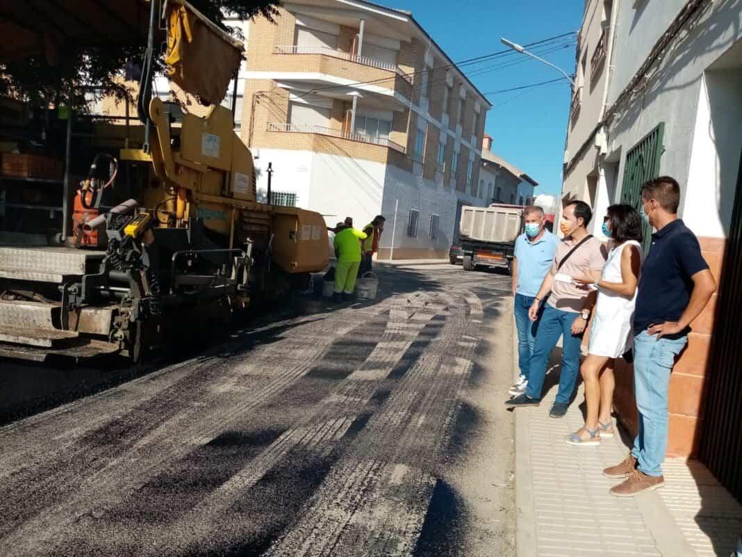 Asfaltado de la calle Caldereros y mejora tramos de los caminos de la Pedriza con los Presupuestos Participativos 4